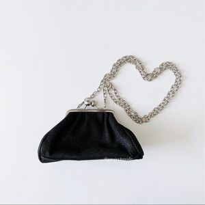 Unlisted Black Evening Mini Crossbody Purse